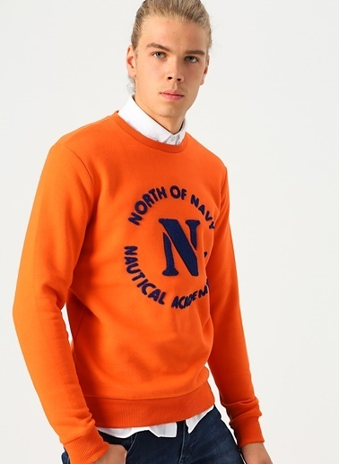 North Of Navy Sweatshirt Oranj